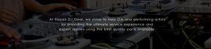 Repair DJ Gear Company Values